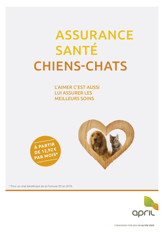 April assurance santé Chiens et Chats - ADP Assurances 5fb70531fdc5